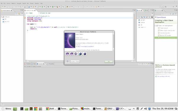 Eclipse IDE for Linux Mint