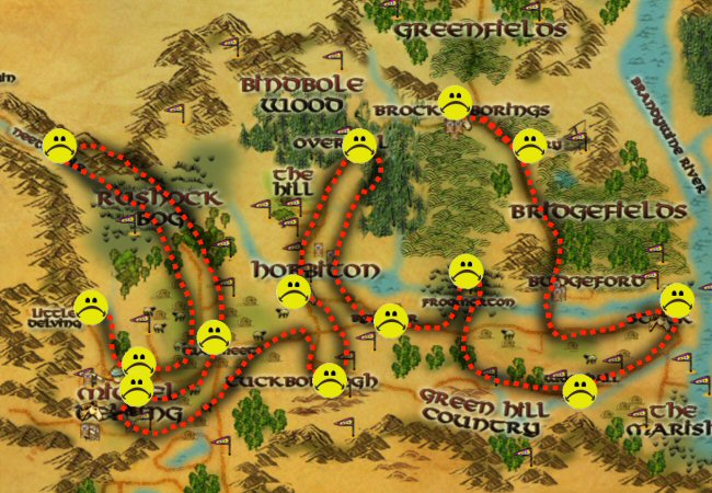 Fifteen steps in all, and each counts as a regular quest in terms of XP and money awarded. Takes just under an hour if you don`t botch any of the steps. It`s enough XP to take you from level four to nine. And the process will net you...