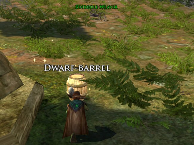 Hang on. There aren`t any Dwarves in here! This is bullshit!