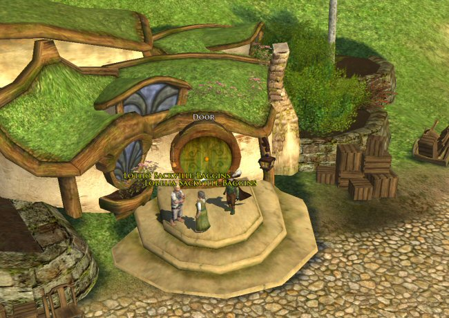 I wonder: Did Lobelia re-name this place to Sackville-Bag-End? I bet she didn`t.