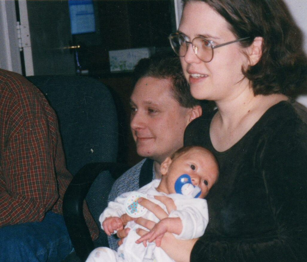 Shamus, Issac, and Heather in 2001.