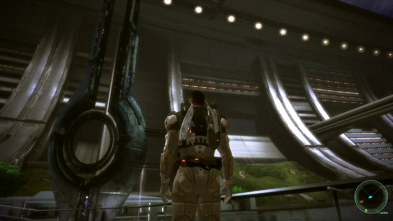 Spoiler: We`re standing where the Mako will eventually be destroyed. Which is kind of funny when you think about it.