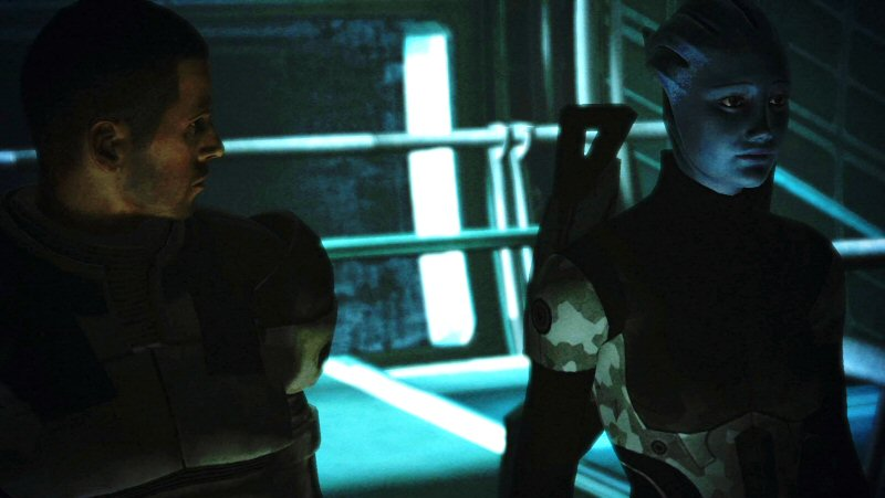 I always thought that bringing Liara to fight her mother to the death was a dick move. But I do it anyway because it makes for more interesting dialog.