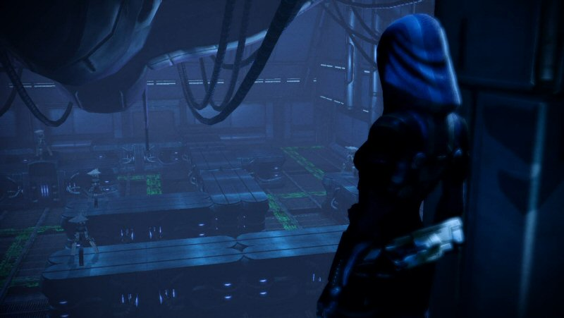 My one complaint about this mission is that Tali has almost nothing to say. This mission should have enormous historical significance for her, and she barely reacts.
