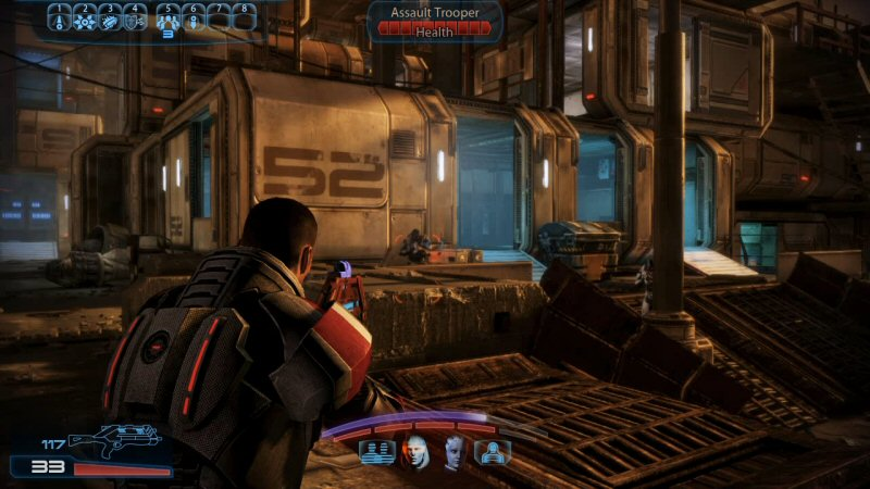 Filling Mass Effect 3 with Cerberus fights is like opening a Thai food restaurant where 90% of the menu is hamburgers.