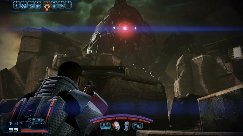 They may be advanced beyond our comprehension, but not even the Reapers can shoot through cover.