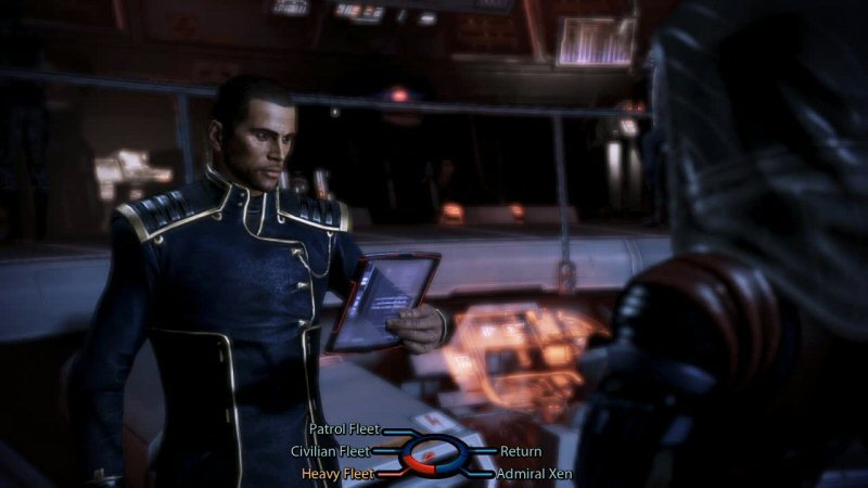 Look at the size of this dialog wheel! Why, it's nearly Mass Effect 1-sized!