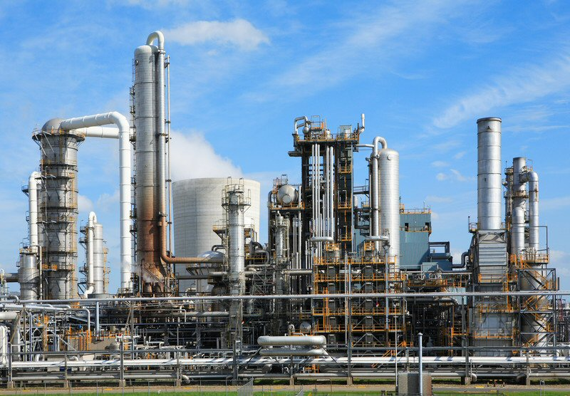 Here is a chemical plant. You'll need to build, staff, supply, and power it. Oh, you'll probably want to build some containers to safely store the resulting explosive compounds.