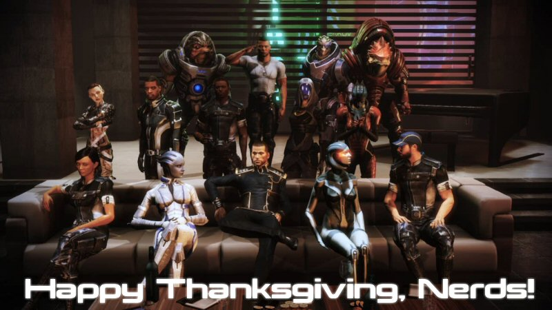 Thanksgiving... in... SPACE!
