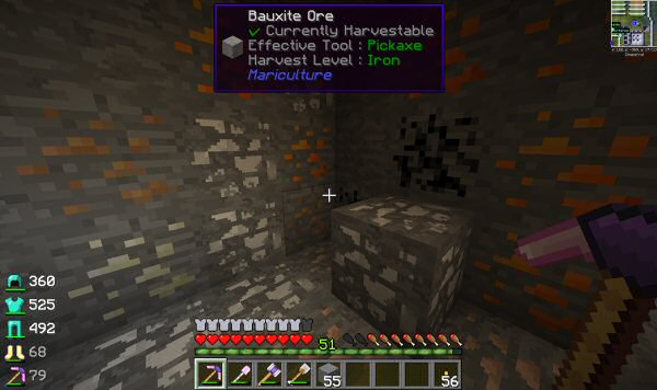 You know you've got too many mods installed when stone becomes a precious resource.