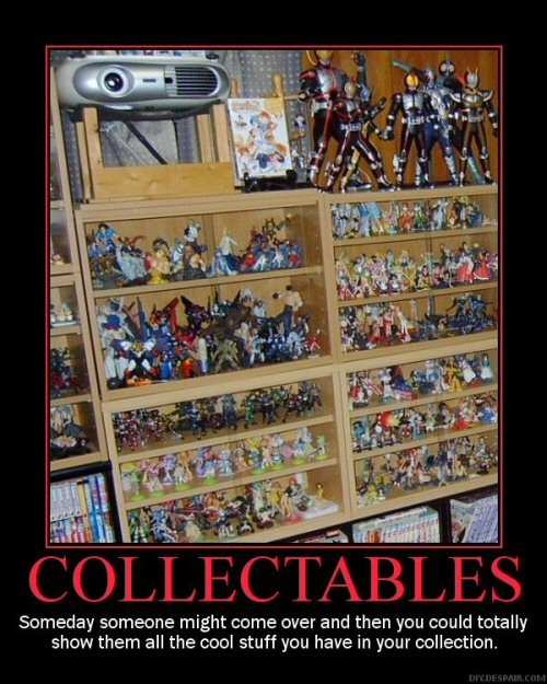 Demotivator, Collectables collection, %Anime figures