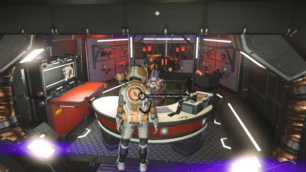 My favorite part of the new update was when I found an alien named Dave.