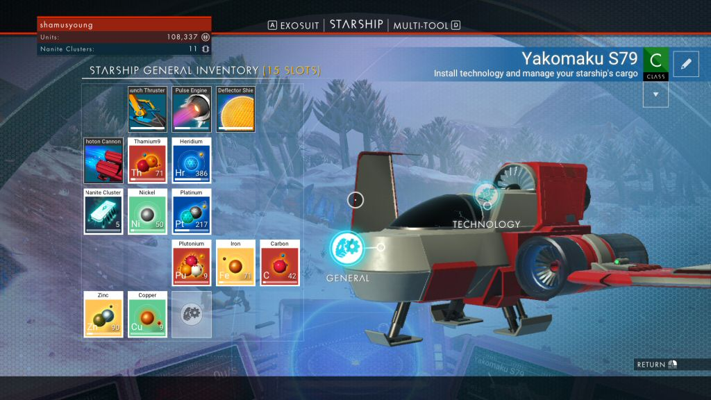 This is the default inventory for your starter ship. It is MUCH too small to facilitate exploration and gathering style gameplay, which is what I ASSUMED the game is supposed to be?!?