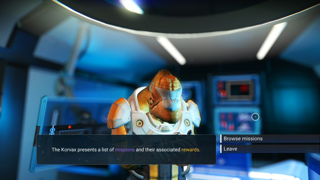 Uh, this guy is not a Korvax. On the other hand, all of these text boxes are useless noise to be clicked through as quickly as possible, so I doubt most people noticed.