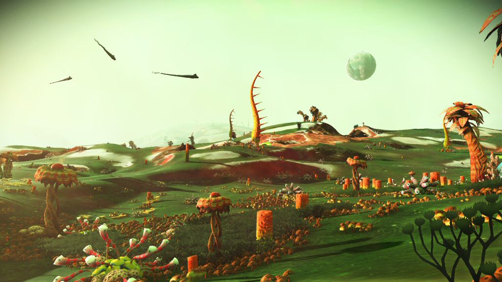 """I'm tired of posting pictures on inventory grids, so here's a picture of a planet I named """"Willy Wonka""""."""