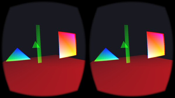 "On the Oculus, it's not just framerate that matters, but also latency. It's possible to have a demo running at 75fps, but each frame is slightly delayed by a fraction of a second due to some clog in the operating system. In this case, you'll turn your head and the thing you're looking at will seem to move with you, then snap back to where it should be. It looks like everything vibates slightly when you turn your head, with vibrations getting more extreme the faster you turn. This is called ""juddering"". It's not pleasant."