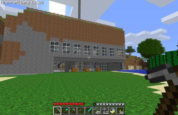pfminecraft_hardcore_housejpg - Biggest House In The World Minecraft