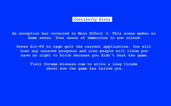 Blue Screen of AWESOME BUTTON!