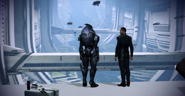 Just like old times, Shepard. Except, you know... not.