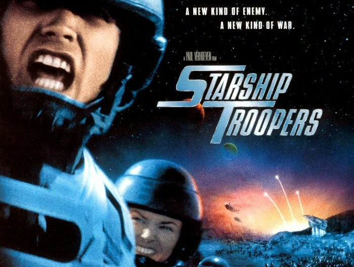 STARSHIP TROOPERS: SPACE TROOPERS FIGHTING SPACE BUGS IN STAR SHIPS IN SPACE!