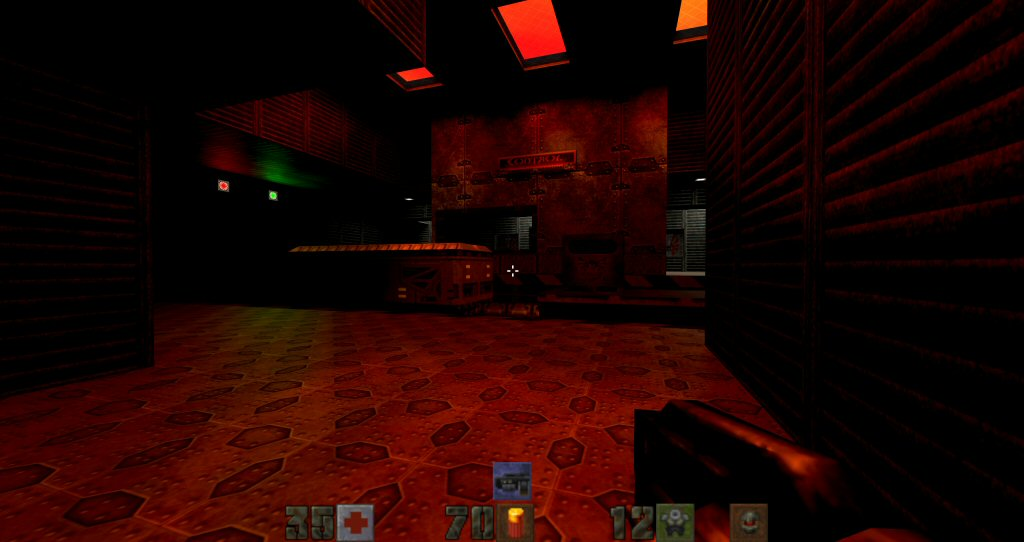Man, I kinda miss the ridiculously supersaturated lighting of 90s shooters.
