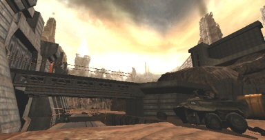 Quake 4: Surface of the Strogg homeworld.