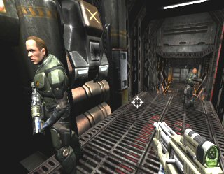 Quake 4: Lt. Voss and Pvt. Sledge