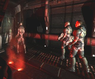 Quake 4: Marines and signal flares