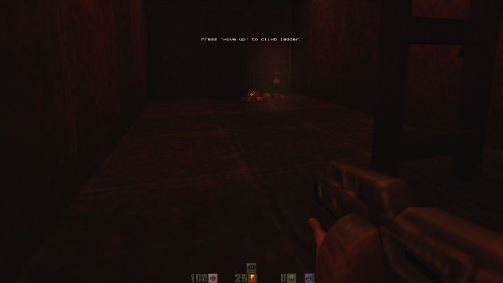 A permanent health booster from Quake 2. Highlighted for clarity.