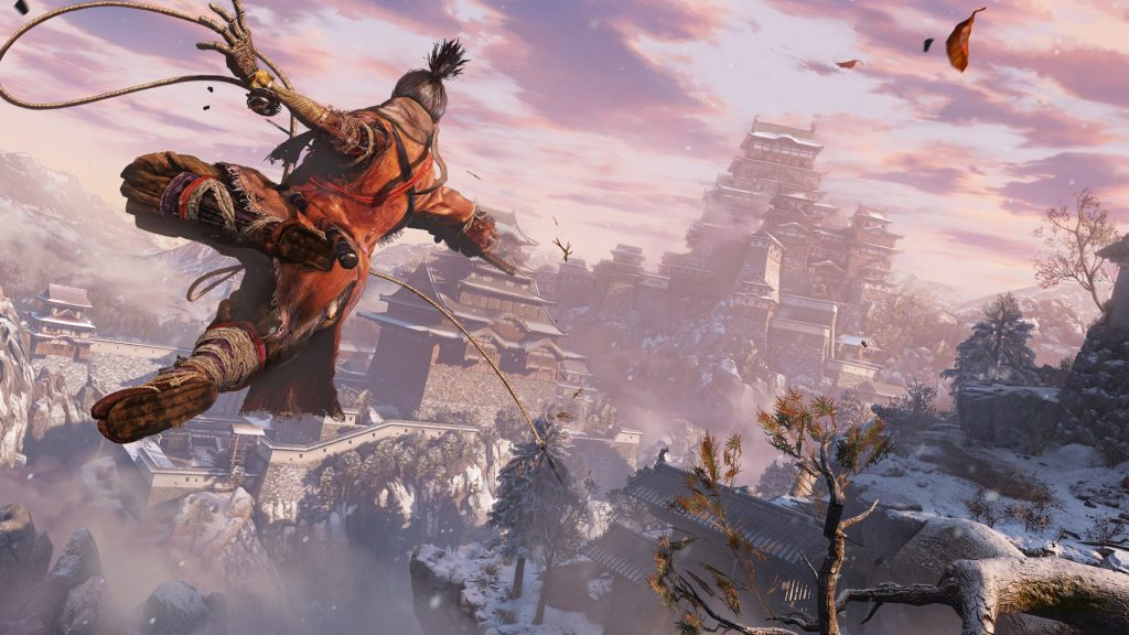 After Sekiro's grappling hook, and the increased verticality and freedom of movement it brings, I predict it'll be hard to go back to previous FromSoft games.
