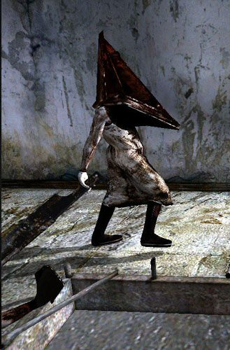 Why do people draw Pyramid Head as a woman?