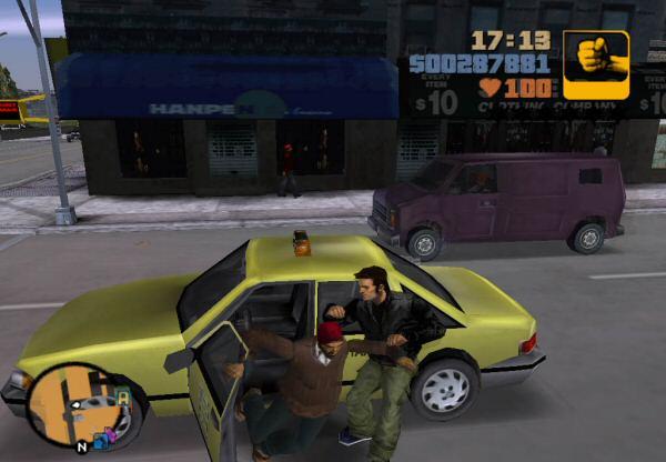 This game ran on Renderware.