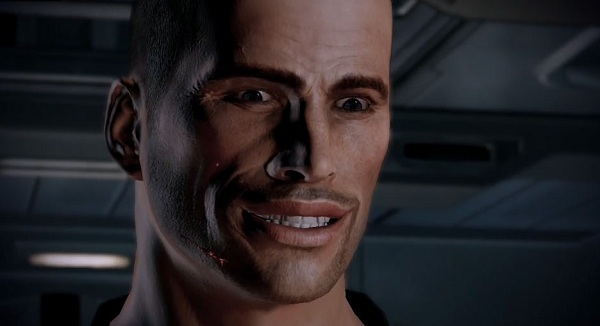 Shepard is a flat, dumb brick that has candy and wants you to GET IN THE VAN.