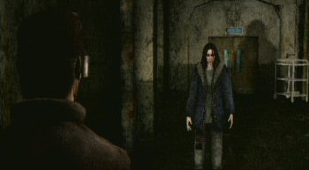 Confusing conversations with disturbed people?  Now it's starting to feel like something I might compare to Silent Hill.