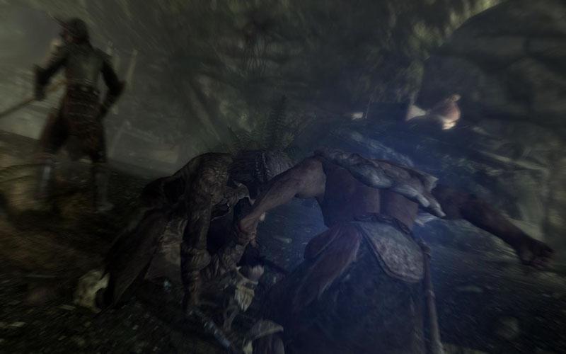 Remember this screenshot of me killing bandits? Here's the same screenshot. Because I'm still killing bandits.
