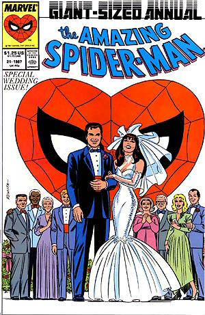 Mary Jane is conceptually a great character, although at times she's been a laid-back party girl, and at others a selfish, chain-smoking bitch.  It all depends on who the author is this week.