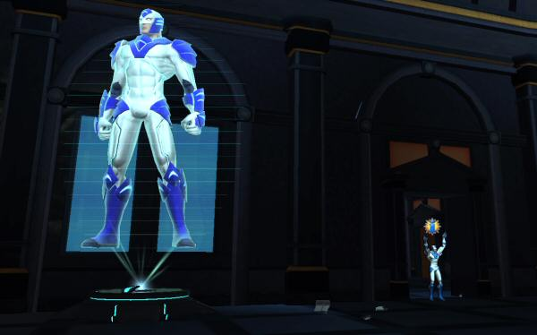 Left: Holographic Defender Right: Actual Defender. Not Pictured: Five million enraged taxpayers.