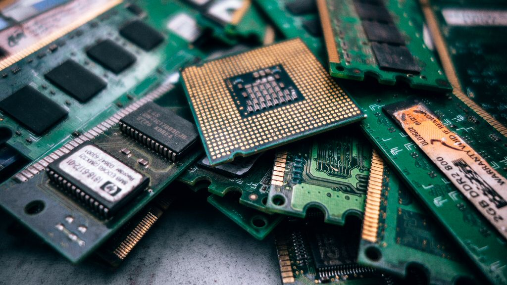 I tried to find stock photos of graphics cards, but all I could find are images of memory and CPUs. The shortage is even impacting stock photography!
