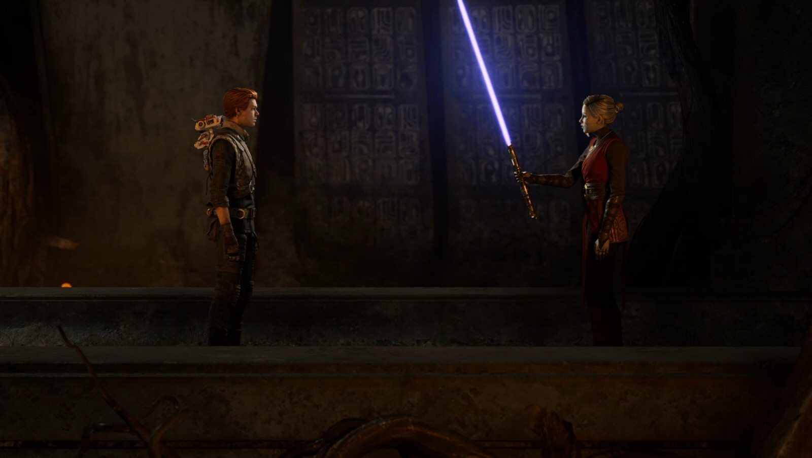 So... I realize lightsabers are fun and everything but... I'm gonna need that back.