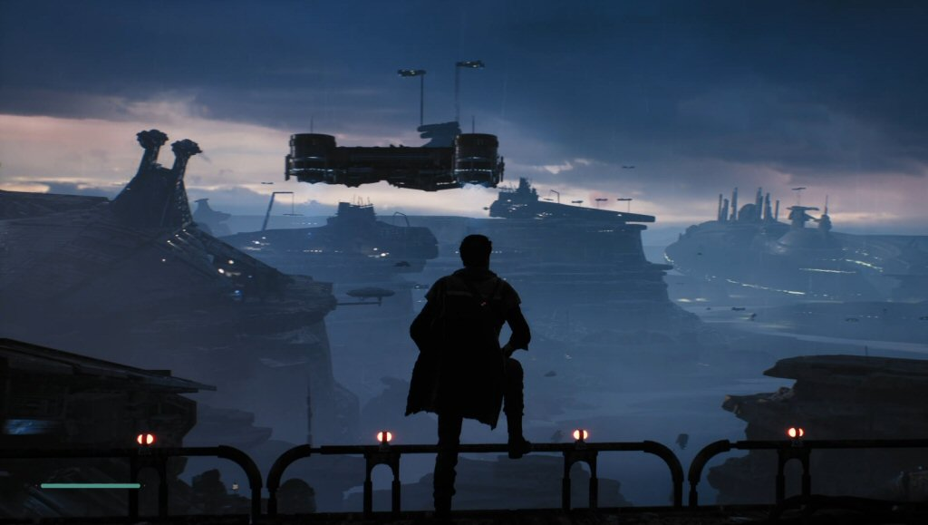 Yes. This is EXACTLY what a Star Wars game should look like. Only Star Wars can make a trash planet look this cool.