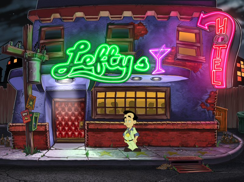 Here is Lefty`s Bar from the 2013 remake.