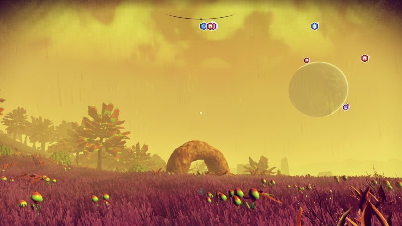 Don`t bother playing No Man`s Sky, because the greatest planet has already be found. No matter how far you travel or how much you explore, you will never find anything better than the planet of giant donuts.