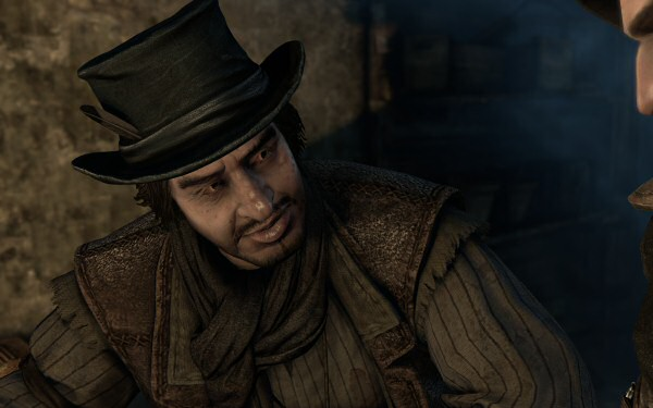 The two best characters in the game: Basso, and Basso's hat.