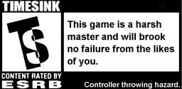 ESRB Timesink warning label.