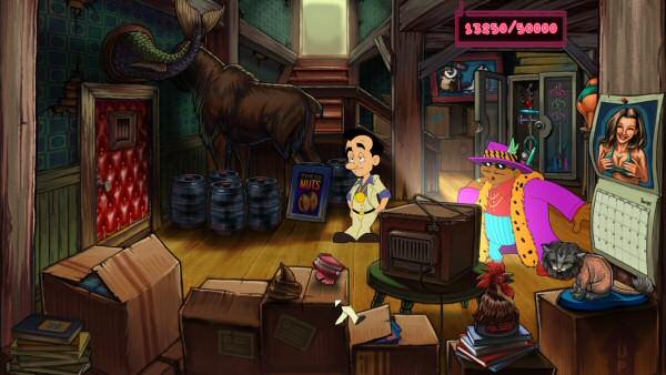 Leisure Suit Larry: Dick joke pioneer.