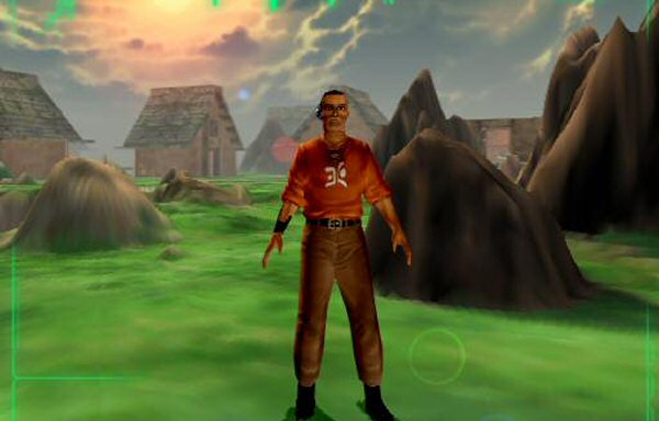 I thought the game was gorgeous, especially for a 1999 release. But the protagonist's run animation was super derpy.
