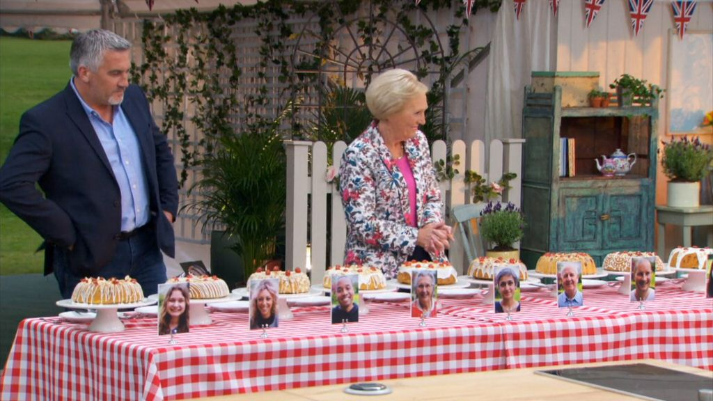 The judges. Left: Paul Hollywood. (Yes really.) Right: Mary Berry. (Yes also really.)