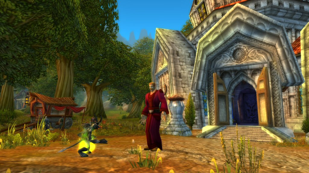 Hey, remember how everyone quit playing World of Warcraft in 2010 because the visuals were six years old? No? Me neither.
