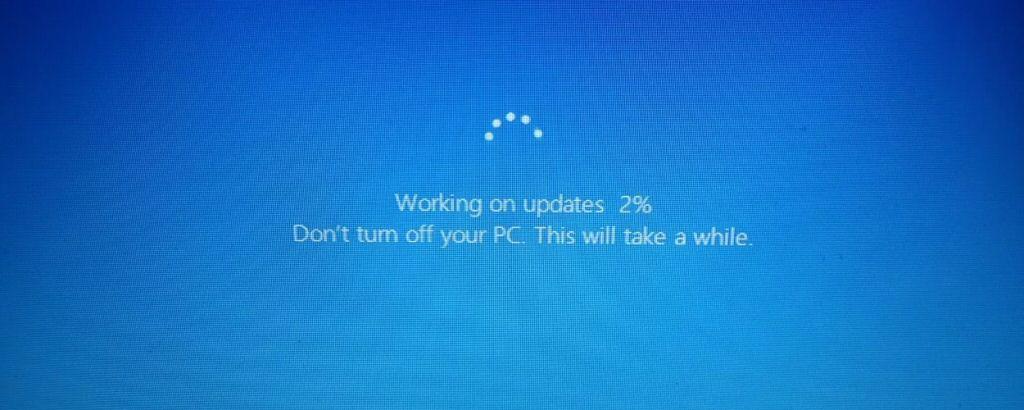 I feel anxiety when I see this screen. I always wonder if my machine will emerge intact.