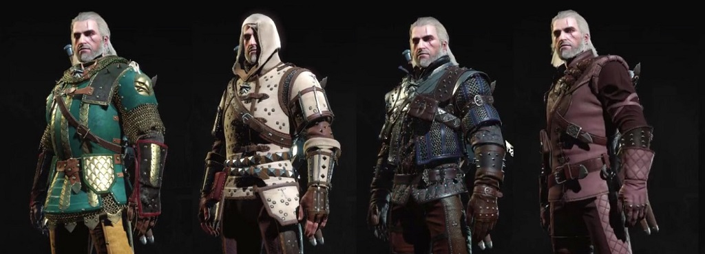 The Griffin armor is on the left. See? Fat. On a side note, this game probably has the coolest-looking armor of any game ever made.